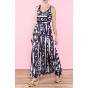 NWT Floral Skies Are Blue Maxi Dress